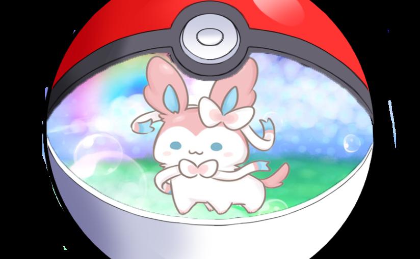 My favourite Pokémon:Sylveon