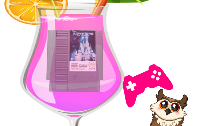 Riding 8 bit Space Mountain Pinkie Plays: Adventures in the MagicKingdom