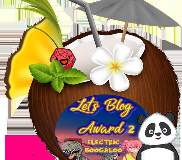 Transformations,  Killers and Secrets : Let's Blog Award2