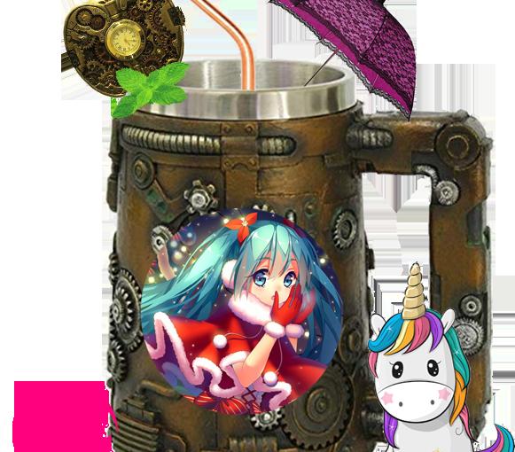 Pinkie and her Christmas Nakama: A Christmas Actvity With AnimeCharacters