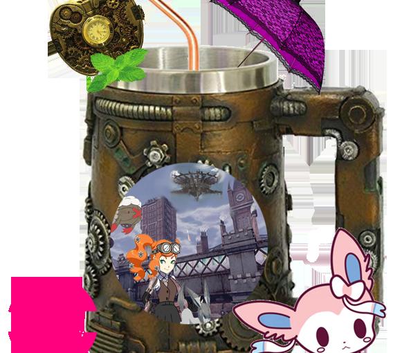 Steampowerd Pokéballs : Creating my own Steampunk PokémonGame